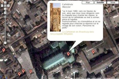 Carte du roman Niclaus Findel, l'extraordinaire histoire de Strasbourg entre 1248 et 1349